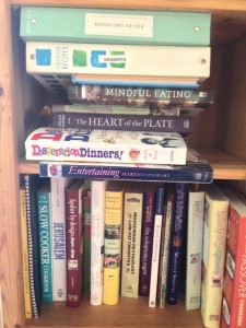 The Permitter's Cookbook Shelf