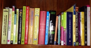 The Restrictor's Cookbook Shelf