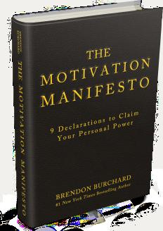 Brendon Burchard Motivaiton Manifesto