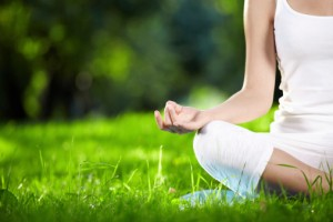 Woman Doing Yoga to Avoid Hormone Imbalance