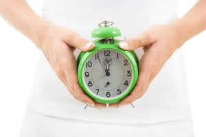 Clock With Concept of Body Clock for Good Health