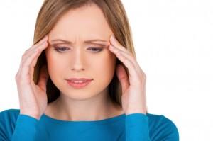 Woman Having Chronic Stress and Cannot Sleep