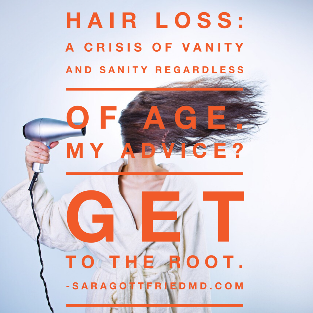 Hair Loss in Women: A Crisis of Vanity and Sanity|Hormone Balance| Sara Gottfried MD