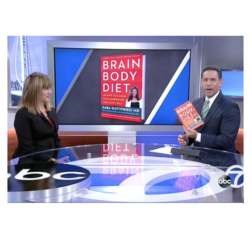 Sara Gottfried Interview |Brain Body Diet| ABC7- KGGO-TV