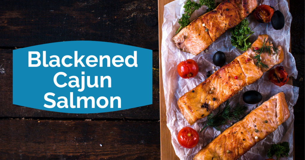 Younger Recipe | Blackened Cajun Salmon | Sara Gottfried MD