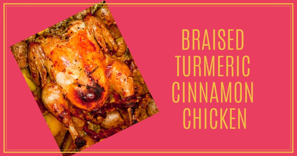 Younger Recipe | Braised Turmeric Cinnamon Chicken | Sara Gottfried MD