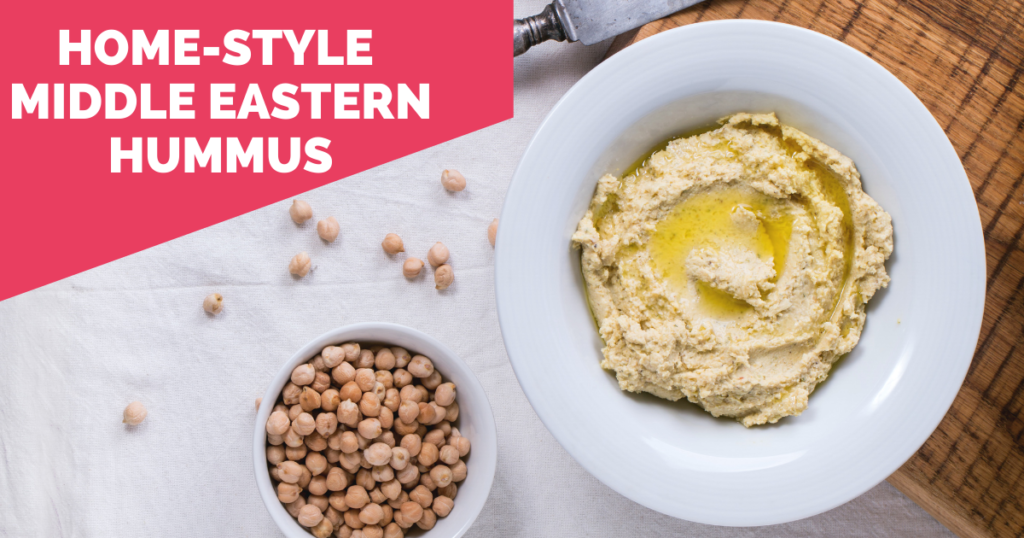 Brain Body Diet Recipe | Home-Style Middle Eastern Hummus | Sara Gottfried MD