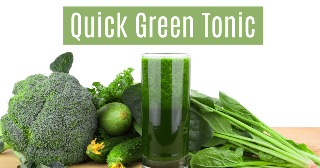 The Hormone Reset Diet Recipe |Green Tonic|Sara Gottfried MD