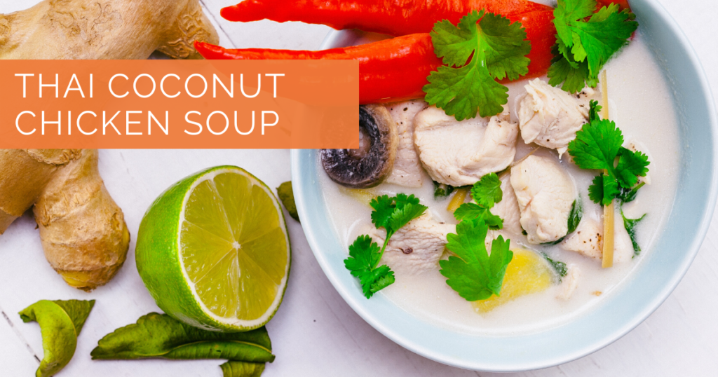 Hormone Reset Diet|Thai Coconut Soup| Sara Gottfried MD